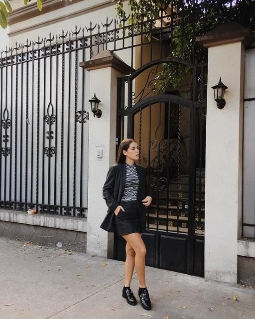 _camilavalero - Aleida Shimmer Blazer
