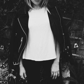 Maria Delilah - Gidley Leather Biker Jacket