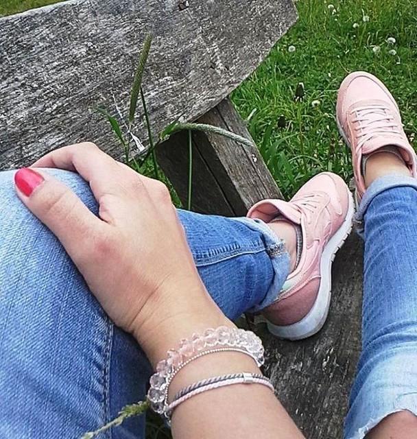 Bransoletka od B.LU #bransoletka #designer #projektantka #instagirl #instafollow ##myfashion #pasja #b.lu #kochammojaprace #lovely #fashionblogger #fashion #reebok #jeans #reebokclassic