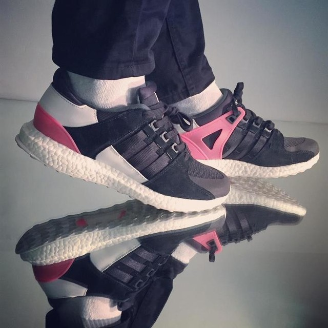 Do you like my new #adidas EQT support Ultra? It's been a while since I got something which is not #ultraboost... Mind you still got the #boost sole! Gotta have it! #sneakerhead #sneakerheads #sneakerheaduk #sneaker