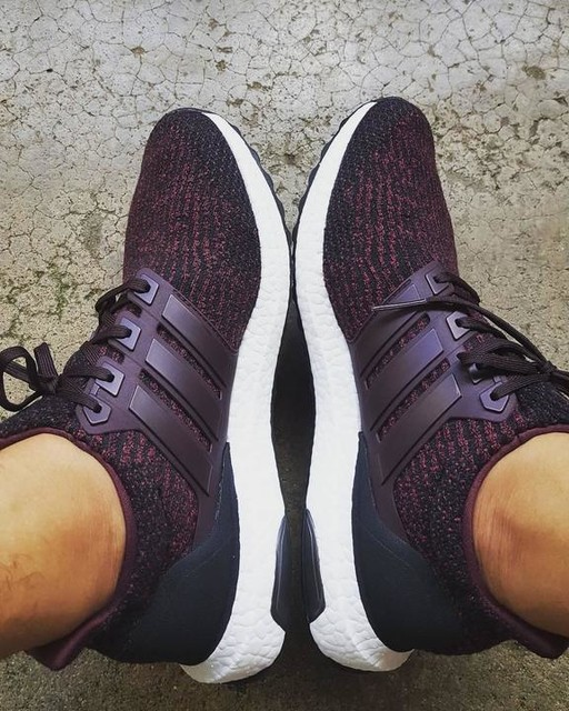 Getting ready with my new shoes @adidasultraboost @ultraboosts #ultraboost #3stripesstyle #darkburgundy