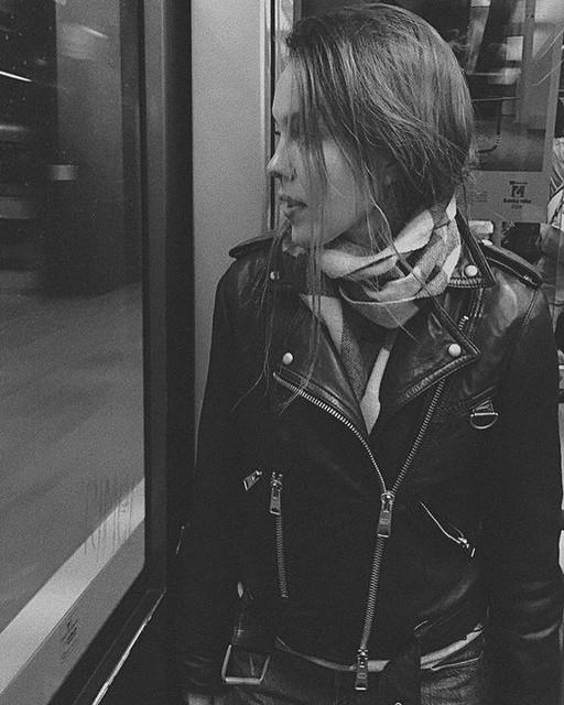 Helga - Gidley Leather Biker Jacket