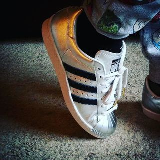 Love my new news!! #new #shoes #adidas #miadidas #custom #trainers #avengers #joggers #randomcombo #silver
