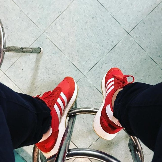 Red iniki!🔥 #adidas #iniki #🔥 #itgma