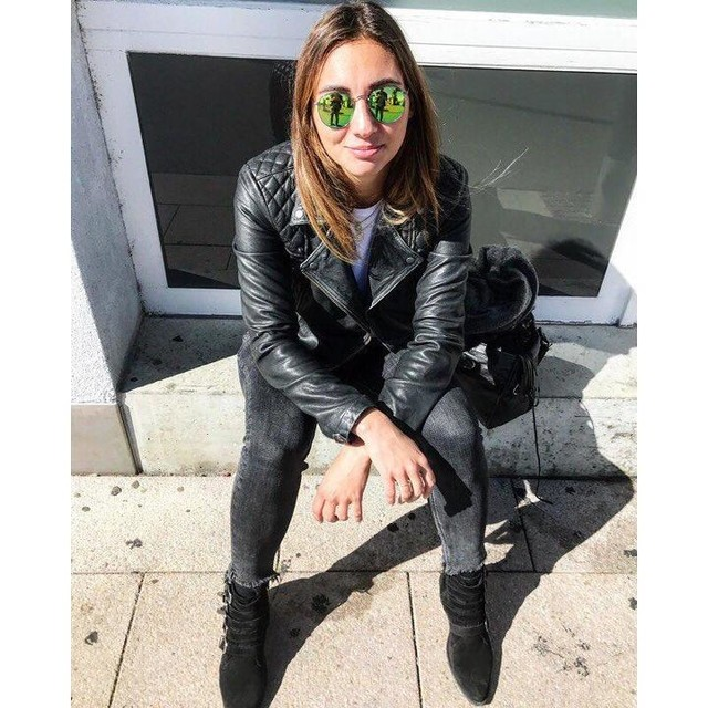 lucnahodilova - Conroy Leather Biker Jacket