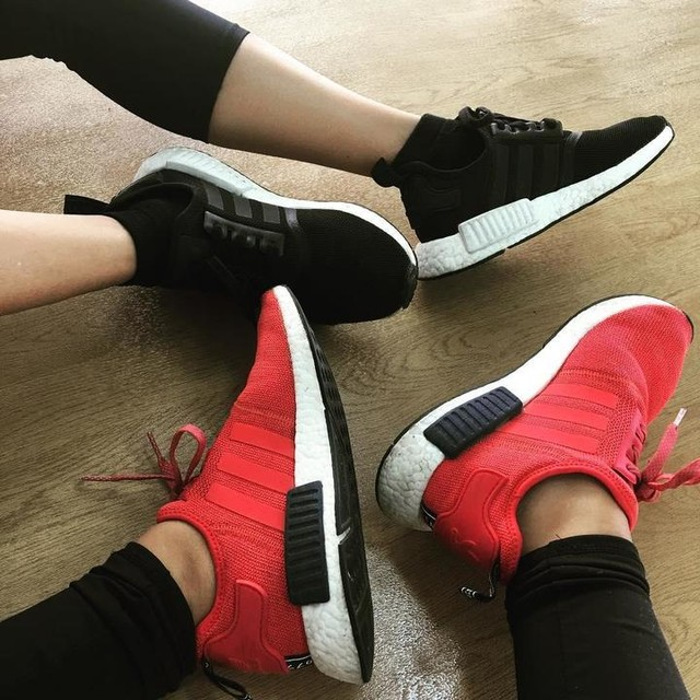 Matchy with sis @imeejoylopez #nmdlover #adidas #nmd