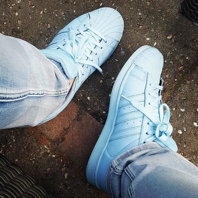 Adidas Superstars ON FEET! adidasoriginals