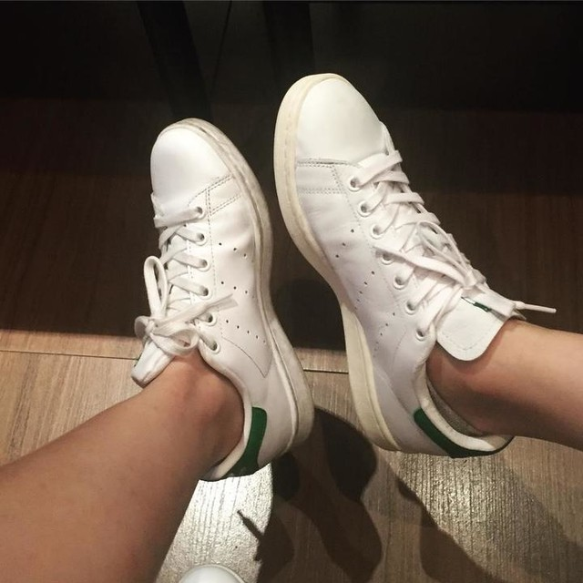 Yes🙋🏼 We are adidas fans 👟😍👭 #adidas #stansmith #adidasfans