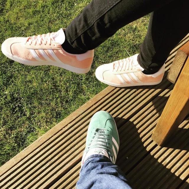 #adidasgazelle #adidasoriginal #adidas #gazelle #hisandhers #adidashisandhers