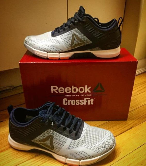 """Had to share...because nothing says """"let's start the week off right"""" like some new kicks!! These are by FAR the most comfortable pair of Crossfit shoes I've ever bought- hands down!! Way above and beyond any pair of Nano or Speeds I own (and I have quite the Crossfit shoe collection/addiction). Wore them around today to break them in.. didn't even need to! Super comfortable, lots of ankle support, great breathability and lots of room for toes to move around. Reebok Crossfit """"Grace"""" .. I think I'm in love! 👍🏻❤️ can't wait to get to the gym tomorrow with these babies. 💪🏻👌🏻👊🏻 #reebok #crossfit #gymrat #crossfitgrace #reebokcrossfit #shoegame #grace #newkicks #motivation #gymlife #LivewithFire #bemorehuman #fitlife 💪🏻👌🏻👍🏻#happyfeet #beachbody #werk #twerk #fitness #starttheweekofright #treatyoself 👟👟 #bikiniseason 👙 @reebok @crossfit"""