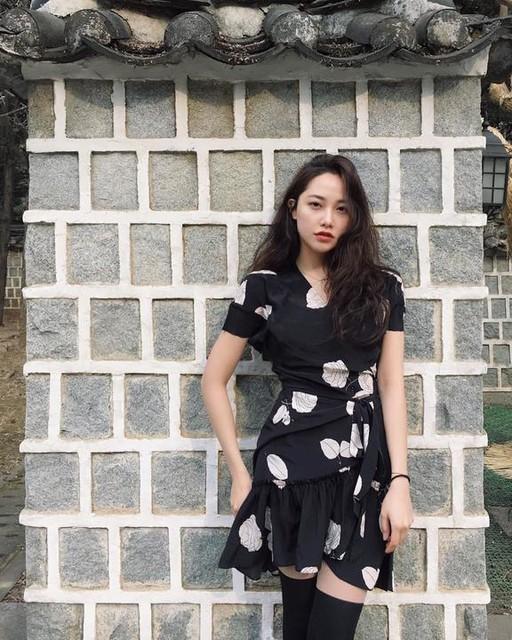 라엘 (Lyle Kim) - Rene Rodin Silk Dress
