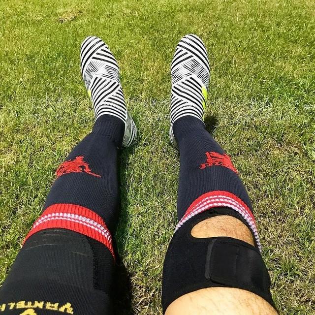 new boots vs. almost expire legs รองเท้าใหม่กับขาที่ใกล้หมดสภาพ #nemeziz#adidas#adidasfootball