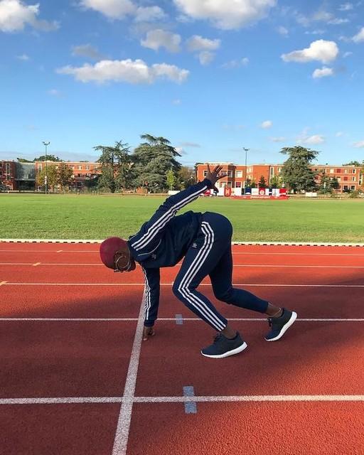 Only one way.  #trackandfield #ffathletisme #sprint #running #courseapied #runfast #onlyoneway #sprinterswithattitude #leichtathletik #sportlife #100m #runninggirl michel_gillot adidasrunning #heretocreate