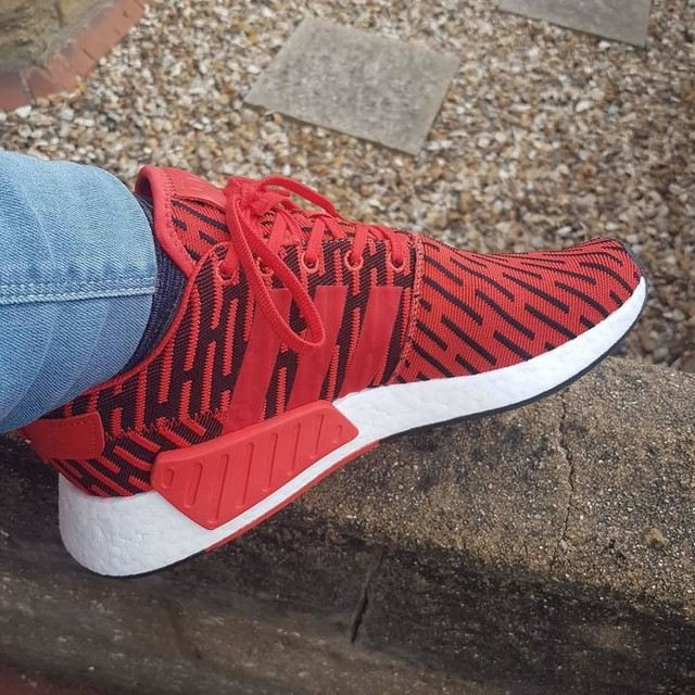 New acquisition #adidas #nmd #boost #shopping #red #favcolour