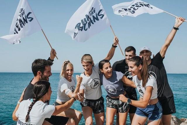 e run together, we breath together! Καταγράφουμε τα χιλιόμετρά μας στο #Runtastic και προσφέρουμε στην προστασία των ωκεανών από το πλαστικό. Για τα πρώτα 1 εκατομμύριο χιλιόμετρα η @adidasrunning θα δωρίσει 1 εκατομμύριο US$ στο πρόγραμμα Parley Ocean Plastic του @parley.tv. Κάνε κι εσύ #join στο παγκόσμιο running κίνημα #RunForTheOceans στο adidas.gr/parley και δήλωσε συμμετοχή στο πρόγραμμα προπονήσεων των #adidasRunnersAthens στο Runtastic ή στο adidas.gr/adidasRunners σήμερα κιόλας. Μαζί μπορούμε να κάνουμε την διαφορά στον πλανήτη. #adidasParley #UltraBOOST #Running #Run #adidasRunning #adidasRunbase #runforacause #proud #captain #community #runlife #runner #motivation #power #fun #purpose