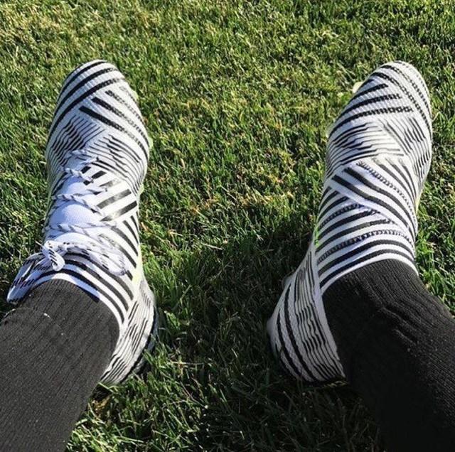 New boots⚽️ @adidasfootball