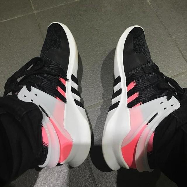 I bloody love these... #adidas #eqt #adidaseqt #sneakers #trainers #kicks #sneakerhead #sneakerfreak #fashion #kicksofinstagram #kicksoftheday #turbo