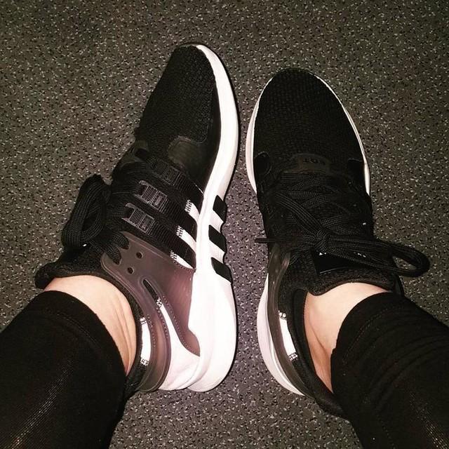 #Montag #Monday 😎 #lovethisshoes ❤ @Adidas #Adidas #Equipment #EQT ##Support #ADV #AdidasEQT #CoreBlack #FtwrWhite #ClearPink #GreetingsFromDassler 😍 #adidaslover #3stripes #threestripes #3stripestyle #adidasler #shoesoftheday #sotd #snkrhds #ilovemysneakers #sneakerhead #sneakerlove #sneakerlover #EverydayAnotherPair 👟