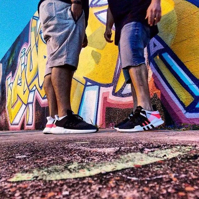 Fresh Picture With The Homie  @pr_sneaks23 #wynwood #eqt  #adidaseqt #eqtadv #eqtgame  #teameqt #eqthype #adidas #boost  #adidasboost #nicekicks #soles  #instakicks #sneakershouts #nmd #adidasoriginals #igsneakers #vibe  #sneakerhead #graffiti #wallart  #mural #lifestyle #streetwear #swag  #miami #wynwoodlife #nyc #tokyo