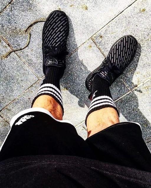 #adidas #adidassocks #adidassocksfetish #adidasshorts #blackonblackonblack #nmdxr1 #nmdxr1tripleblack #sneakerhead #puertorico #sanjuan #hypebeast #3stripes #3stripesstyle #blackandwhite #tubesocks #coolkicks #blackandwhiteadidas #y3