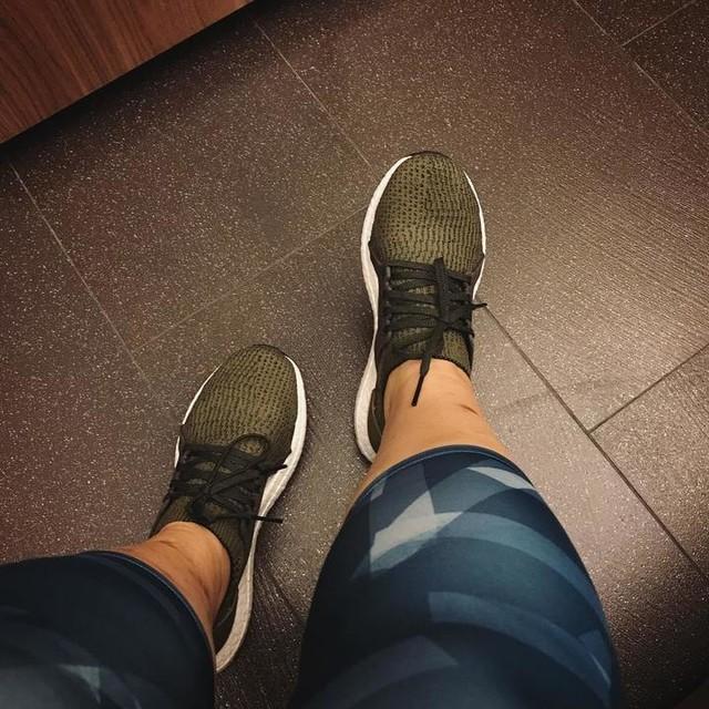 Wednesday is green 💚 @singbu #anniekeepfit #run #dance #bodyjam #adidas #adidasrunning #adidasultraboost #ultraboost #ultraboostx #YESadidas