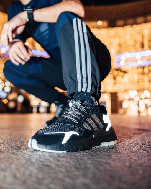 Leaving night trainings in style with my nite joggers! #nitejogger #createdwithadidas #adidasoriginals #adidassg