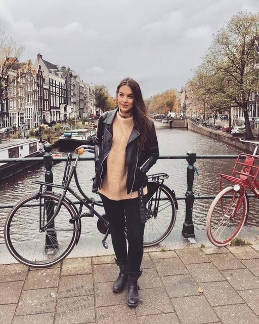 camishacyara - Giacca Biker Oversize