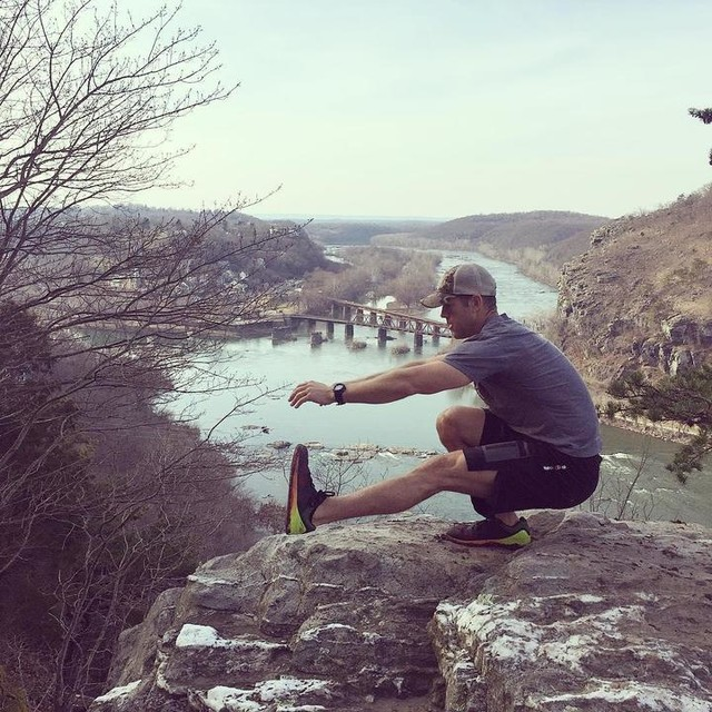 Hiking the Appalachian Trial and took a short break at the fork of the Shenandoah and Potomac River. #crossfityuma #notchhat #nano7