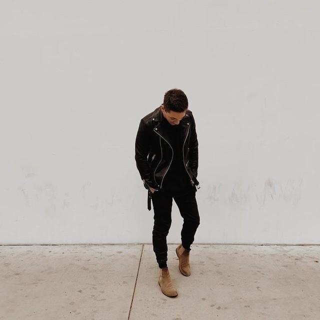 travis.l.collins - Wick Leather Biker Jacket