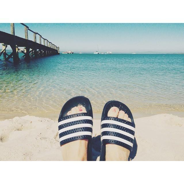 Daydreaming about this... 💙 #lagoon #langebaanlagoon #westcoast #nationalpark #southafrica #langebaan #kraalbai #paradise #travel #sunshine #vsco #vscocam #bluesky #beach #bay #landscape #womft #adiletten #adilette #adidas #kicks #beautiful #nature #throwback #wannegoback