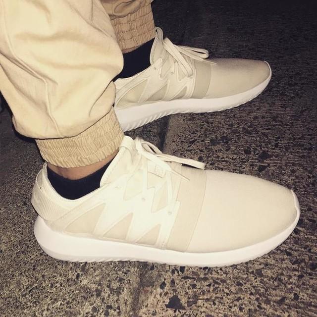 KOTD. #tubularviral  #3stripes #cream #adidas #tubular