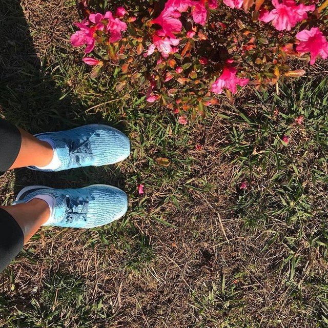 This is my gym 🌸🍀🌺#blessed #running #runnergirl #3porsemana #runningespinho 💪🏼🍊 #runningespinhogirls #vemcorrerconnosco #amazing #flowers #nature #adidas #ultraboost