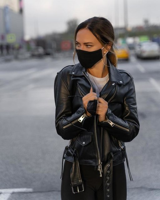 miha.marchenko - Luna Leather Biker Jacket