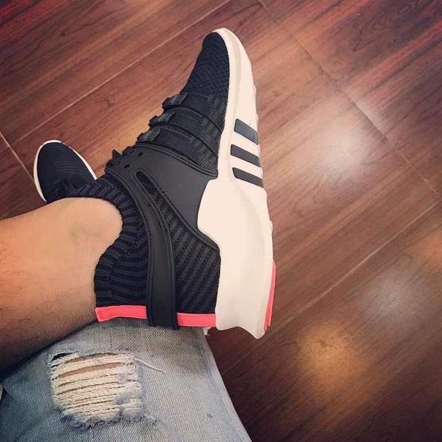#eqt #adidas #sneaker #black #3stripesstyle #jeans