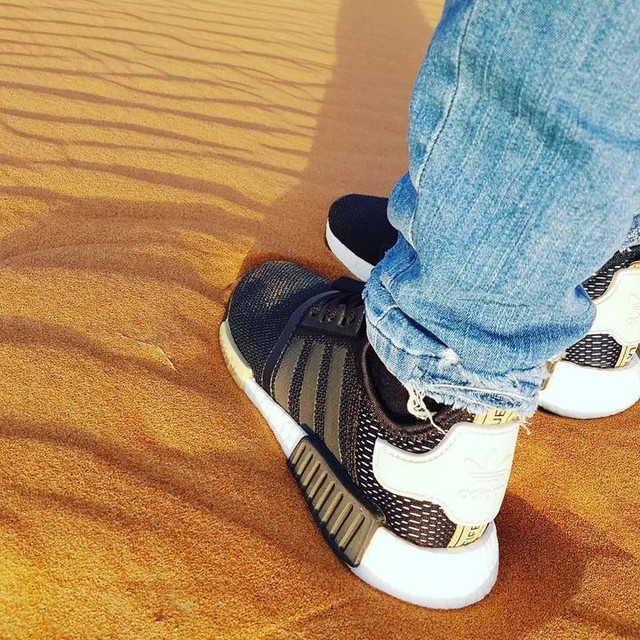 Difficult road often lead to beautiful destination. Just keep going 👟💪 #quote #motivation #inspiration #keepgoing #desert #travelgram #travelphotography #adidas #nmd #instapic #instadaily