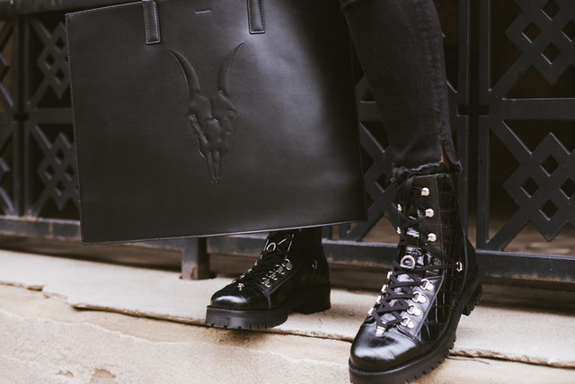 whocares.whatshewears - Franka Crocodile Boot