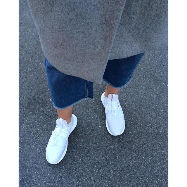 👟☀️ #newin #allwhite #sneakers #adidas #tubular