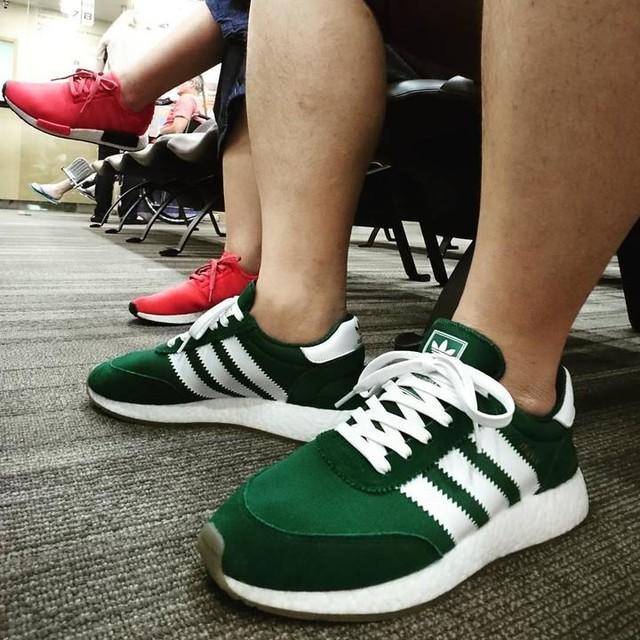 Living that #boostlife. #adidas #nmd #iniki #teamtrefoil #nicekicks #kickstagram