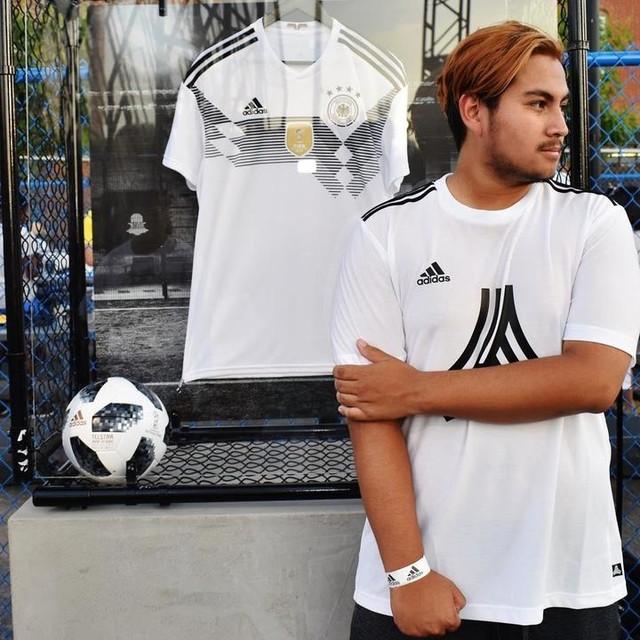 For the world champions @adidasfootball #tangoleague #tangocontest #tangosquad #creativityistheanswer #heretocreate #neverfollow #adidasnyc #adidasfootball #fifa18 #worldcup #telstar