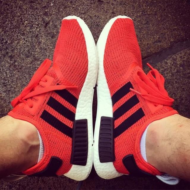 New shoes 😍 #happyday #lights #shoes #adidas #adidasnmd #nmd  #instagood #arroganza #influencer #fashionblogger #fabriziodaiquiri #summer #sunnyday #imback #italianstyle #ahahah