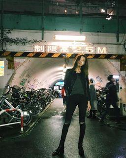 ALLSAINTS JAPAN - Gidley Leather Biker Jacket