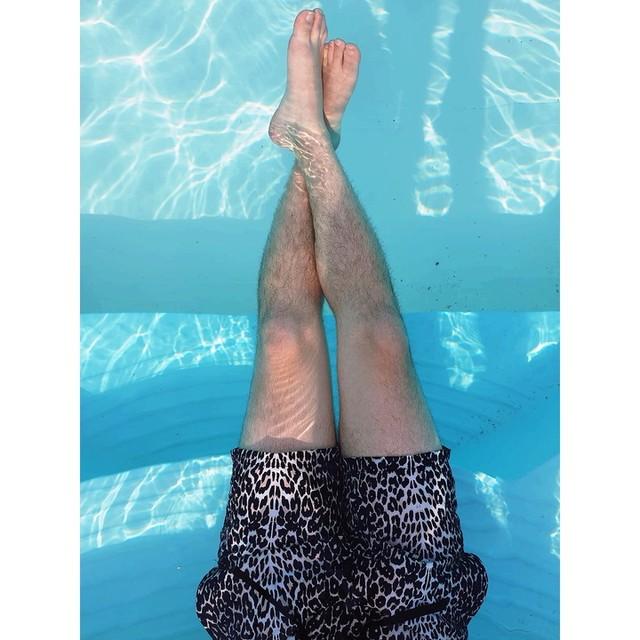 Francesco Nuzzo - Feline Swim Shorts