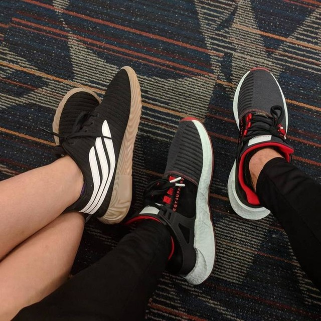 ✈️ to 🇯🇲 with the Mrs. @spookylilacs Adidas Sobakov & Adidas Yuanxiao 93/17 . . . #adidas #adidasboost #adidas9317 #adidaseqt #sobakov #sobakovadidas #coolshoes #shies #sneakers #sneakerpics #hype #hypeshoes #sneakerhead #sneakerheads #instashoes #yuanxiao #airportfashion #instakicks #sneakergram #hotshoes #honeymoontime #headedforthebeach #havelovewilltravel