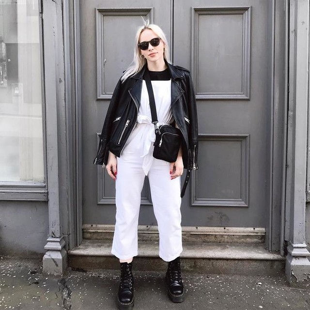 kerrylyle_ - Balfern Leather Biker Jacket