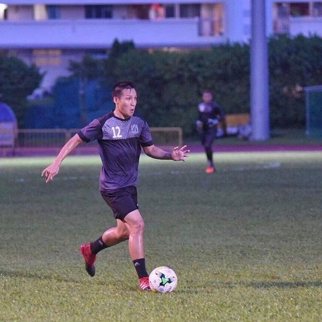 Instead of trying to be the best in the team, try to be the best for the team! 💪🏼⚽️ #AdidasSG #ACE17 #NeverFollow #HougangUnited #1H1H #HGFC #Teamwork #Quote #Word 📸: @stefanusian