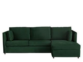 Superb Milner Sofa Bed With Memory Foam Mattress Regal Blue Velvet Uwap Interior Chair Design Uwaporg