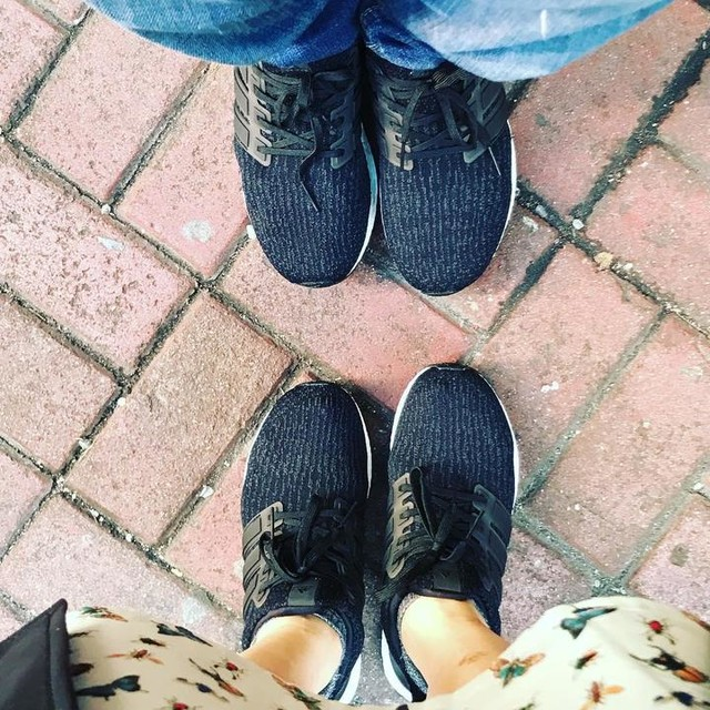 hahahahaha #adidas #ultraboost #ultraboost3.0 #sillycouple #withhim #meandhim