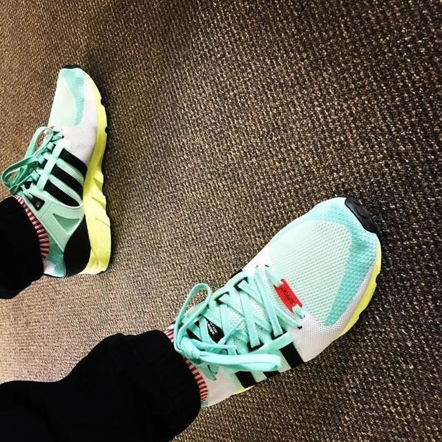 EQT SUPPORT #thebrandwiththethreestripes #adidasoriginals #adidas #eqt #kicks #kickgame #kickstagram #kicksonfire #kicksoftheday
