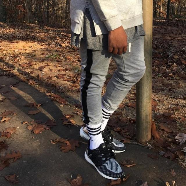 With Way Less Effort #Details #Layers #LordsHere 🙏🏾 =============================== =================================================== #LessIsmore  #Cozy #fall #Greys #ultraboost #boostvibes #adidas #3stripesstyle #Easy #3stripes #yeezy #yeezyseason #fashion #Stylist  #fit #fitness #athletic #readytowear #streetswear #streetfashion #picoftheday #ootd #cozy #jayz