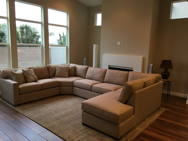 Magnificent Alder Foam 4 Piece Sectional W Right Arm Facing Chaise Dailytribune Chair Design For Home Dailytribuneorg